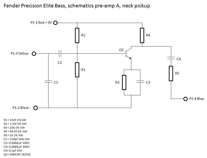 fender precision elite bass preamp washburn n1 wiring diagram washburn wiring diagram guitar